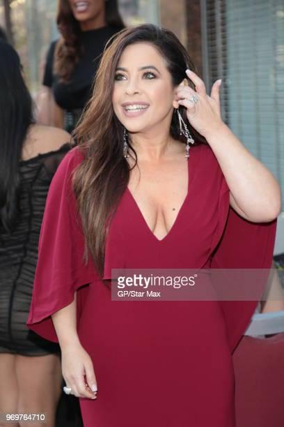 Brooke Lewis is seen on June 7 2018 in Los Angeles CA