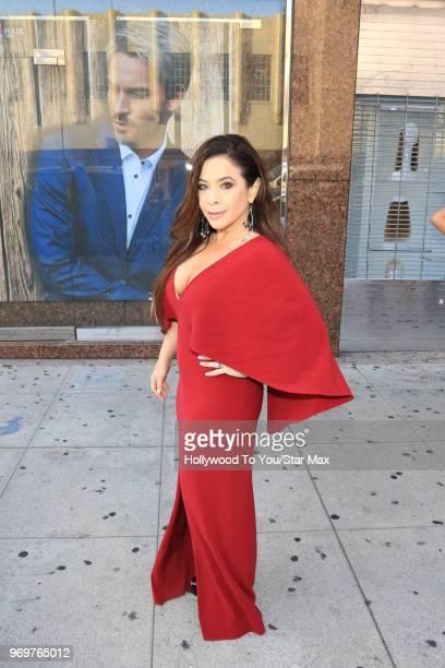 Brooke Lewis is seen on June 7 2018 in Los Angeles California