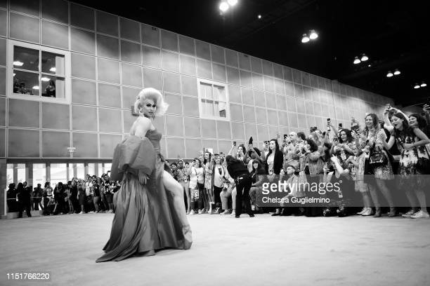 Brooke Lynn Hytes attends RuPaul's DragCon LA 2019 at Los Angeles Convention Center on May 25 2019 in Los Angeles California