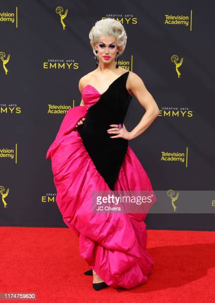 Brooke Lynn Hytes attends the 2019 Creative Arts Emmy Awards on September 14 2019 in Los Angeles California