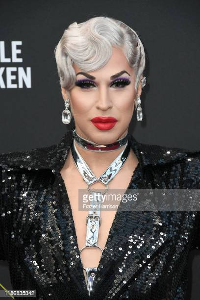 Brooke Lynn Hytes attends the 2019 E People's Choice Awards at Barker Hangar on November 10 2019 in Santa Monica California