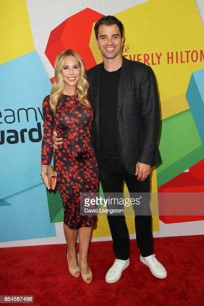 Brooke Mahan and Michael Mahan attend the 7th Annual 2017 Streamy Awards at The Beverly Hilton Hotel on September 26 2017 in Beverly Hills California