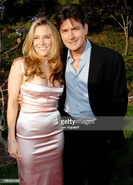 Brooke Mueller and Charlie Sheen during Sixth Annual Chrysalis Butterfly Ball - Arrivals at Home of Susan Harris & Hayward Kaiser in Mandeville...