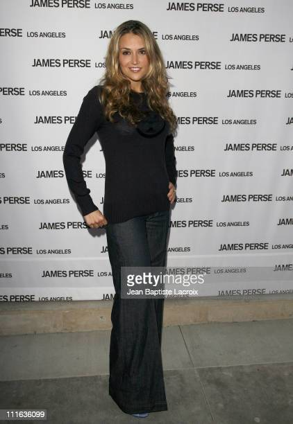 Brooke Mueller arrives at the James Perse store opening on september 18, 2007 in Beverly Hills, California.