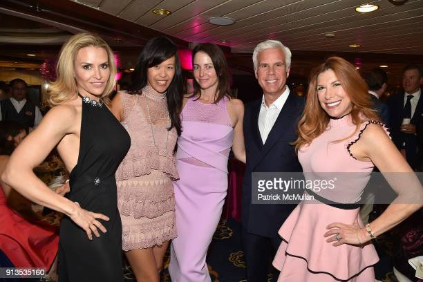 Brooke Mueller, May Green, Ann Neville, George Norcross and Laura Anthony attend Susan G. Komen presents the 8th Annual Perfect Pink Party on Bahamas...