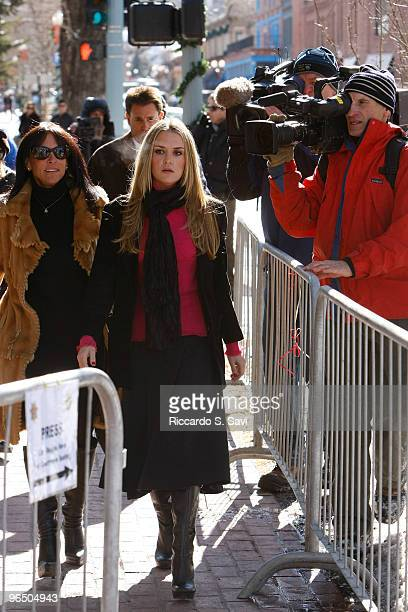 Brooke Mueller Sheen at the Court Appearance for charges of domestic violence against her husband Charlie Sheen on February 8, 2010 in Aspen,...