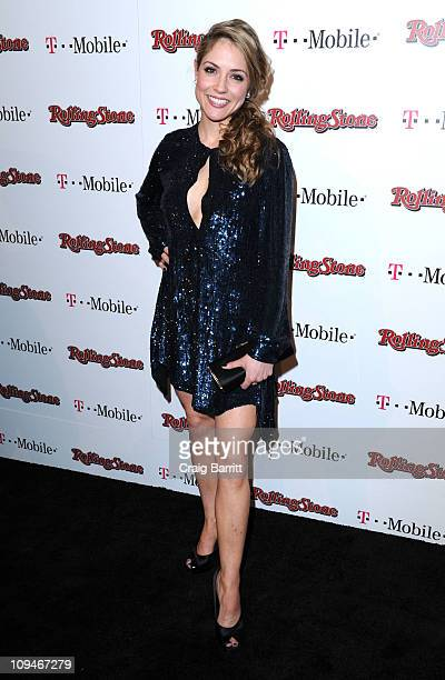 Brooke Nevin arrives at the Rolling Stone's Awards Weekend Bash at Drai's Hollywood on February 26 2011 in Hollywood California