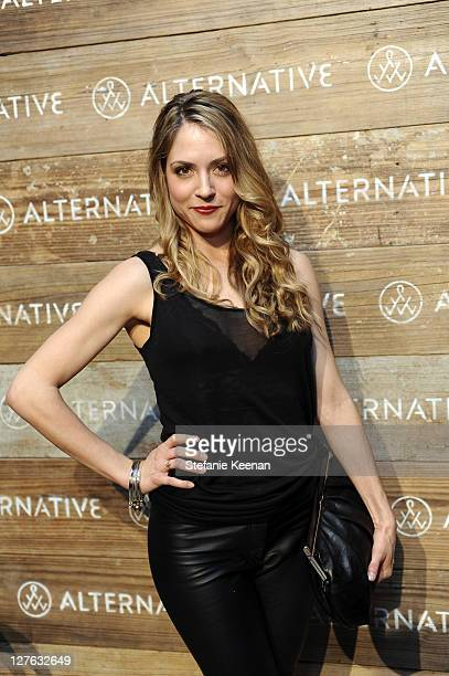 Brooke Nevin attends Alternative Seasons of Change Fall 2011 Fashion Presentation at Palihouse Holloway on March 15 2011 in West Hollywood California