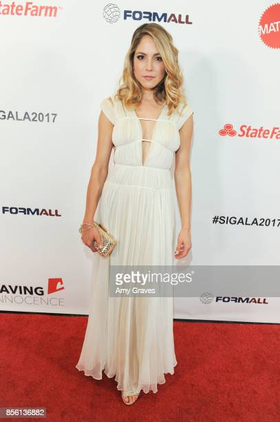 Brooke Nevin attends The 6th Annual Saving Innocence Gala at the Loews Hollywood Hotel on September 30 2017 in Hollywood California