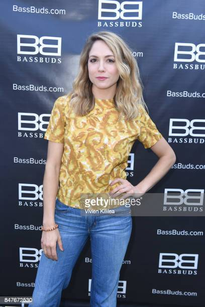 Brooke Nevin attends the EcoLuxe PreAwards Party on September 15 2017 in Beverly Hills California