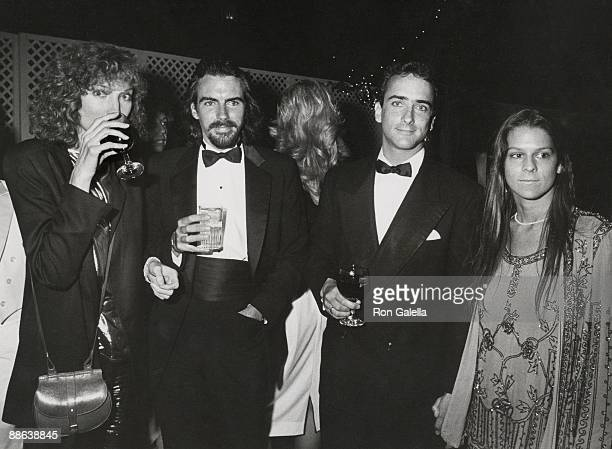 Brooke Palance Michael Wilding Christopher Wilding and Aileen Getty