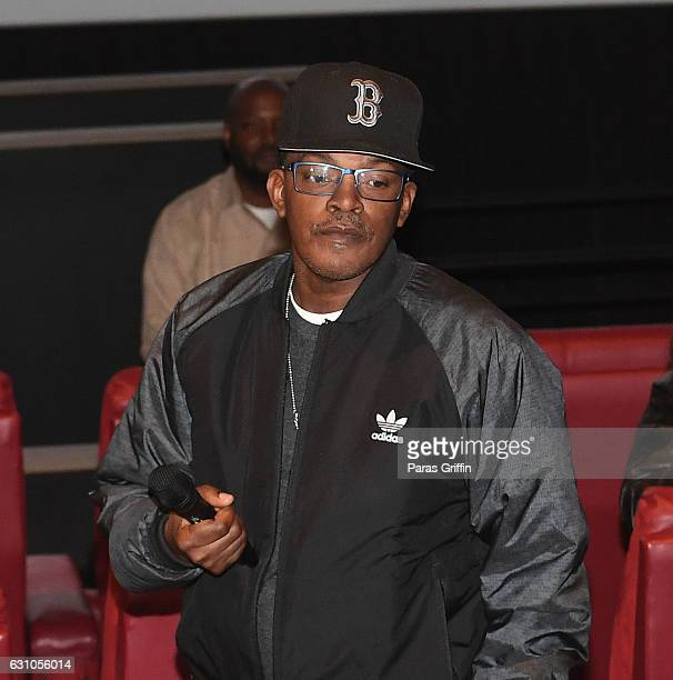Brooke Payne attends BET's Atlanta screening of The New Edition Story at AMC Parkway Pointe on January 5 2017 in Atlanta Georgia