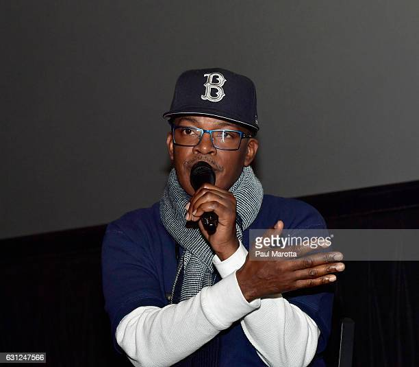 Brooke Payne attends BET's Boston screening of 'The New Edition Story' at AMC Boston Common on January 8 2017 in Boston Massachusetts