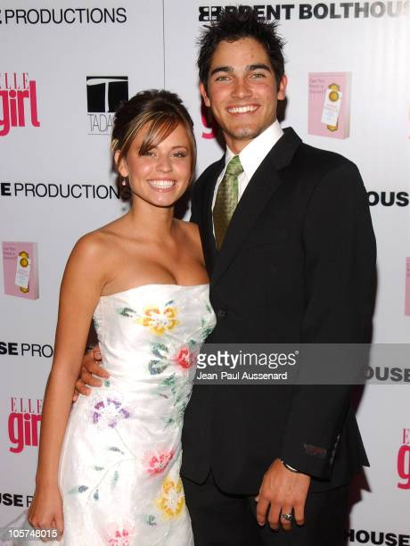 Brooke Pearson and Tyler Hoechlin during ELLEGIRL's 1st Annual Hollywood Prom Arrivals at Hollywood Athletic Club in Hollywood California United...