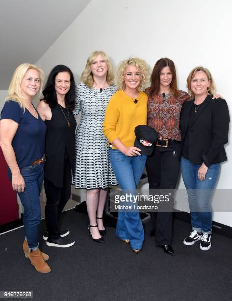 Brooke Primero SVP of PR and Marketing at Academy of County Music Change the Conversation cofounders Leslie Fram and Beverly Keel recording artist...