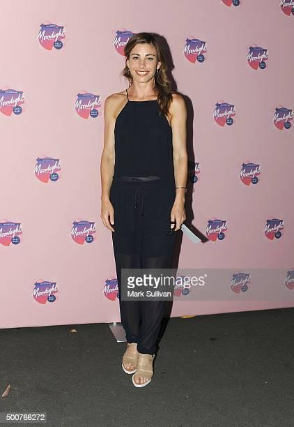 Brooke Satchwell arrives ahead of Moonlight Cinema Opening Night at Centennial Park on December 10 2015 in Sydney Australia