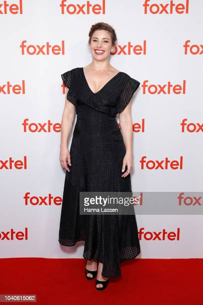 Brooke Satchwell attends Foxtel's 2018/2019 Drama Showcase at Dendy Opera Quays on September 26 2018 in Sydney Australia
