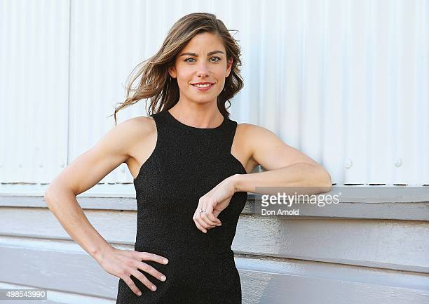 Brooke Satchwell poses during the ABC TV 2016 Slate Launch at Doltone House on November 24 2015 in Sydney Australia