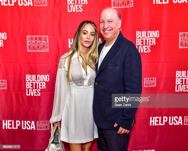 Brooke Schonfeld and Steven Schonfeld attend HELP USA Heroes Awards Gala at the Garage on June 4 2018 in New York City