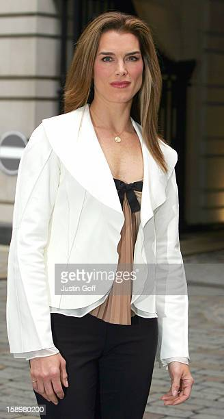 Brooke Sheilds Attends A Photocall To Promote Her London Stage Debut, Starring As Roxie Hart In Chicago, At London'S Adelphi Theatre.