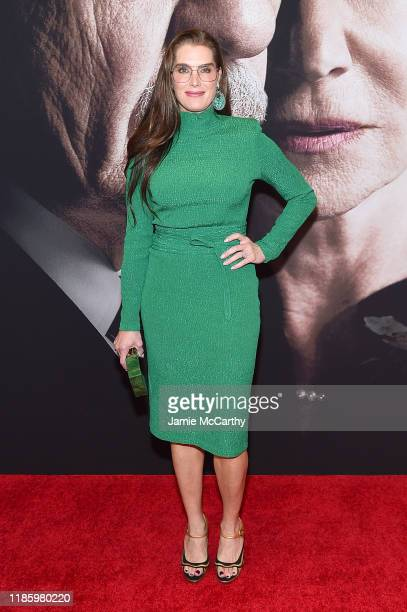 "Brooke Sheilds attends ""The Good Liar"" New York Premiere on November 06, 2019 in New York City."