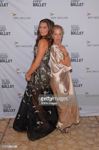 Brooke Shields and Ali Wentworth attend the 8th Annual New York City Ballet Fall Fashion Gala at David H Koch Theater Lincoln Center