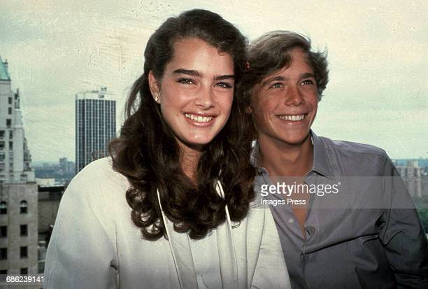 Brooke Shields and Blue Lagoon costar Christopher Atkins circa 1980 in New York City