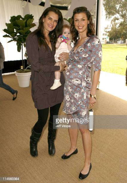 Brooke Shields and Bridget Moynahan during Coach Fragrance Launch to Benefit EBMRF in Los Angeles, California, United States.