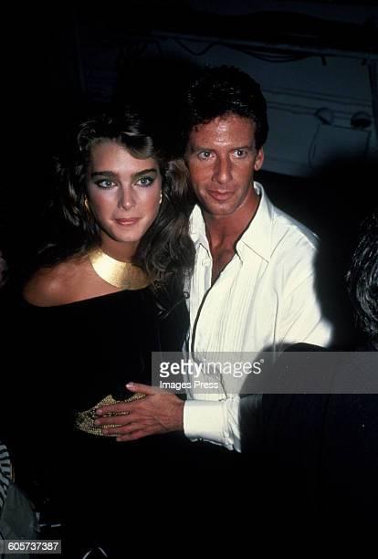 Brooke Shields and Calvin Klein circa 1981 in New York City