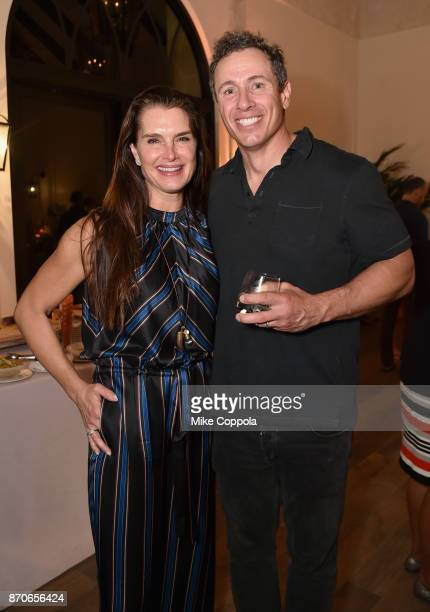 Brooke Shields and Chris Cuomo attend the weekend opening of The NEW ultraluxury Cove Resort at Atlantis Paradise Island on November 3 2017 in The...