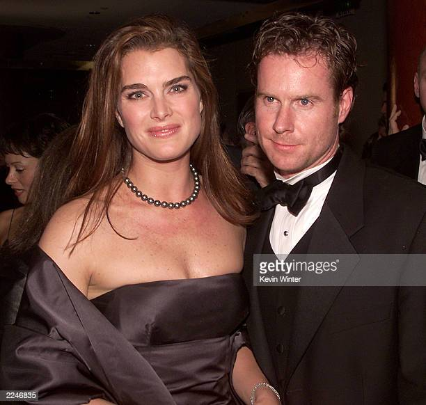 Brooke Shields and Chris Henchy at the 'Carousel of Hope 2000' gala to benefit the Barbara Davis Center for Childhood Diabetes at the Beverly Hilton...