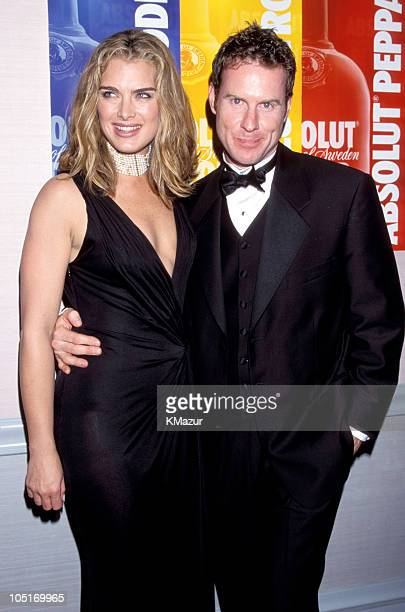Brooke Shields and Chris Henchy during 11th Annual GLAAD Media Awards New York at The Hilton Hotel in New York City New York United States