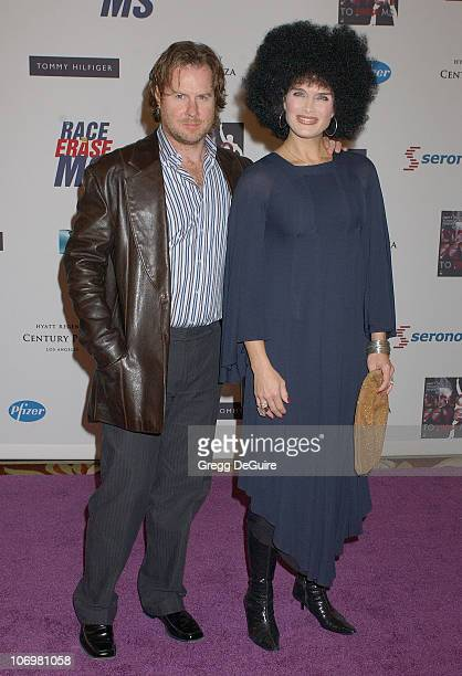 Brooke Shields and Chris Henchy during 13th Annual Race to Erase MS Sponsored by Nancy Davis and Tommy Hilfiger - Arrivals at Hyatt Regency Century...