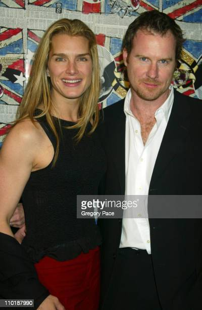 """Brooke Shields and Chris Henchy during Jade Jagger Hosts Garrard """"Rock Hard"""" U.S. Launch Party - Inside Arrivals at Gramercy Park Hotel in New York..."""