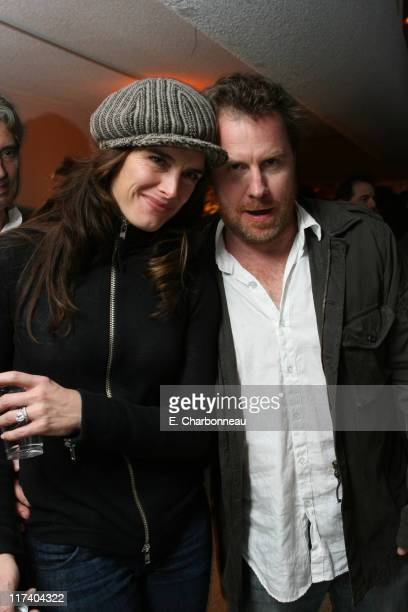 """Brooke Shields and Chris Henchy during Premiere of Columbia Pictures' """"Stranger Than Fiction"""" at Mann Village Theatre in Westwood, CA, United States."""