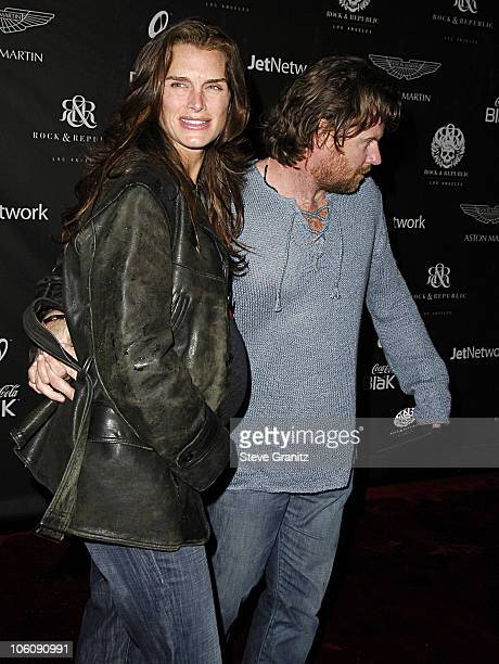 f250d8b46fe6 Brooke Shields and Chris Henchy during Rock Republic s Fall 2006 Exhibition  of Fashion Begins the New