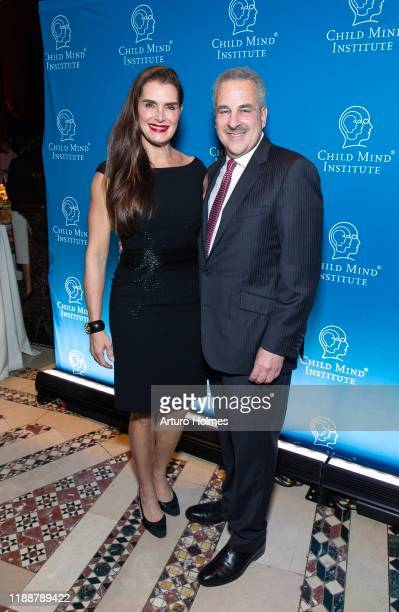 Brooke Shields and Dr Harold SS Koplewicz attend Child Mind Institute Advocacy Dinner at Cipriani 42nd Street on November 19 2019 in New York City