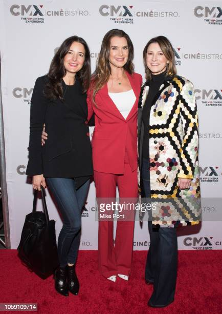 "Brooke Shields and guests attend the opening of CMX CineBistro with special screenings of ""BlacKkKlansman"", ""City Lights"" & ""Pretty Baby"" at CMX..."