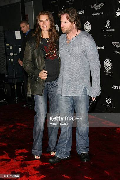 Brooke Shields and her husband Chris Henchy during Rock and Republic Fashion Exhibition for the Fall 2006 at Sony Studios in Culver City California...
