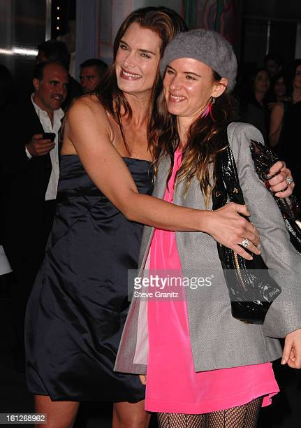 db0ef6699db3 Brooke Shields and Juliette Lewis arrives at the Prada Presents Trembled  Blossoms LA on March 19