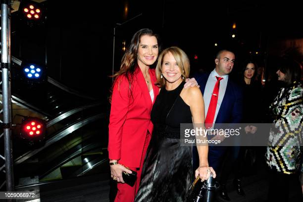 Brooke Shields and Katie Couric attend Opening Of CMX CineBistro With Special Screenings Of BlacKkKlansman City Lights Pretty Baby at CMX CineBistro...