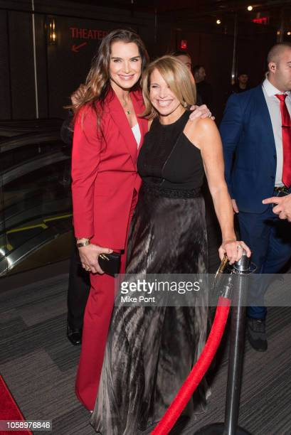 Brooke Shields and Katie Couric attend the opening of CMX CineBistro with special screenings of BlacKkKlansman City Lights Pretty Baby at CMX...