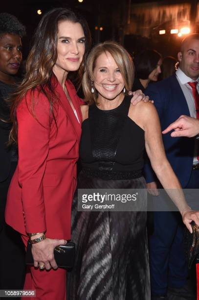 Brooke Shields and Katie Couric attend the opening of CMX CineBistro with special screenings of 'Blackkklansman' 'City Lights' and 'Pretty Baby' at...