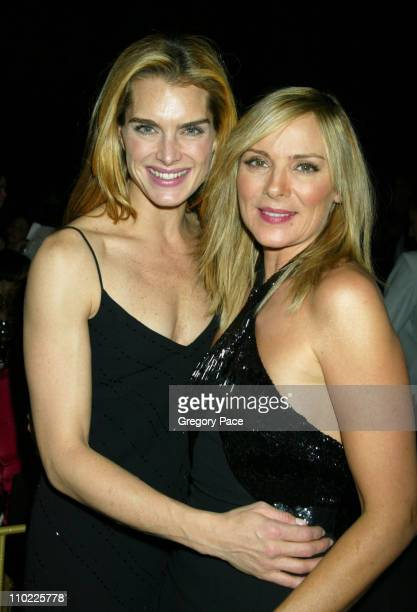 Brooke Shields and Kim Cattrall during The Accessories Council Presents the 8th Annual Ace Awards at Cipriani 42nd Street in New York City New York...