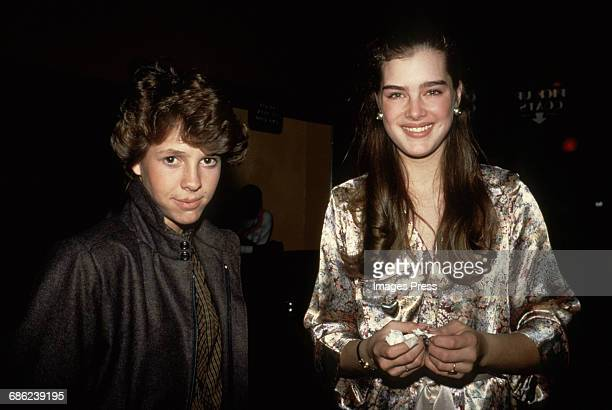 Brooke Shields and Kristy McNichol circa 1981 in New York City