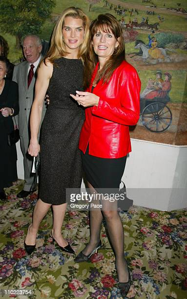 Brooke Shields and Lucie Arnaz during Brooke Shields Hosts the 2004 Tony Honors for Excellence in the Theatre at Tavern on the Green in New York City...