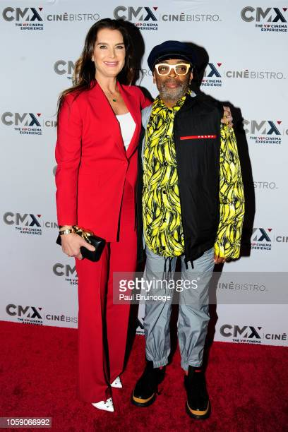 Brooke Shields and Spike Lee attend Opening Of CMX CineBistro With Special Screenings Of BlacKkKlansman City Lights Pretty Baby at CMX CineBistro NYC...