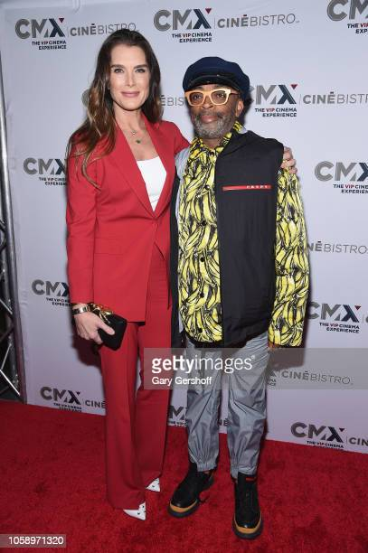 Brooke Shields and Spike Lee attend the opening of CMX CineBistro with special screenings of 'Blackkklansman' 'City Lights' and 'Pretty Baby' at CMX...