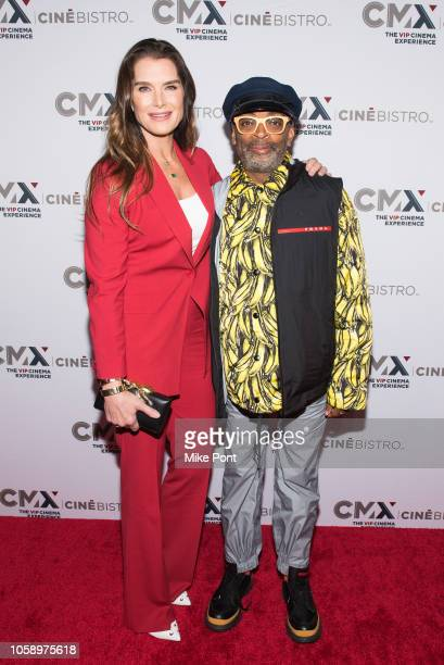 "Brooke Shields and Spike Lee attend the opening of CMX CineBistro with special screenings of ""BlacKkKlansman,"" ""City Lights,"" & ""Pretty Baby"" at CMX..."