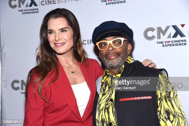 Brooke Shields and Spike Lee attend the opening of CMX CineBistro with special screenings of 'Blackkklansman City Lights and Pretty Baby' at CMX...